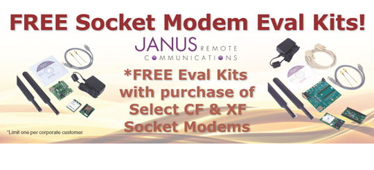 FREE Eval Kits with Select CF&XF modems