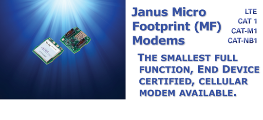 End device carrier certified socket modems for all IoT applications